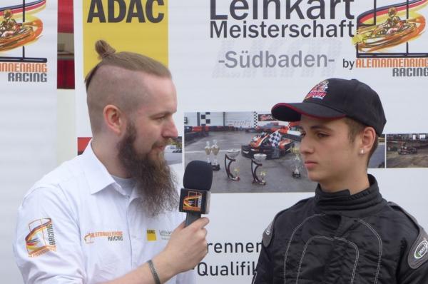 Fabio Martorana - 1. Platz ROK-Cup in Teningen 19.05.2019