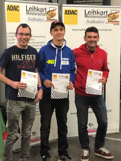 1. Platz ROK-Cup in Singen am 03.11.2019